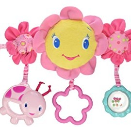 Bright Starts Petal Pusher Carrier Toy Bar